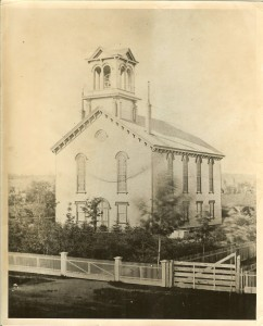 Our Church-1871 (From the Collection of the North Chatham Historical Society...Used by Permission)