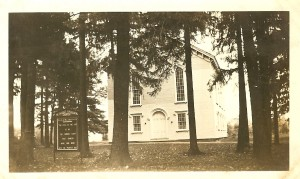 Our Church-1938 (From the Collection of the North Chatham Historical Society...Used by Permission)