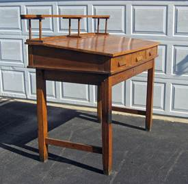 Antique High Top Desk 1
