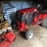 Wheel Horse Tractor and Mower Deck 1