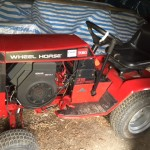 Wheel Horse Tractor and Mower Deck 3