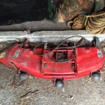 Wheel Horse Tractor and Mower Deck 4